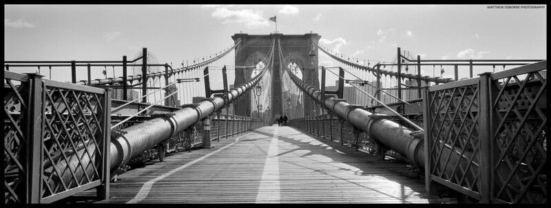 Brooklyn Bridge New York Panoramic