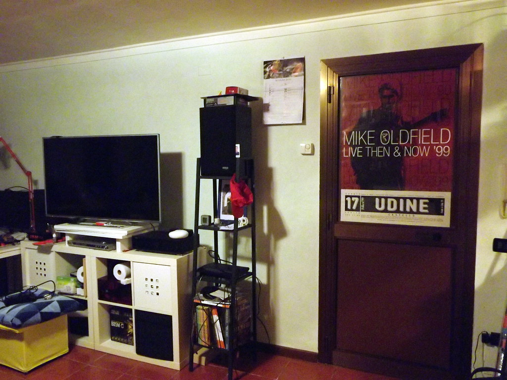 My PC and TV and Music Room