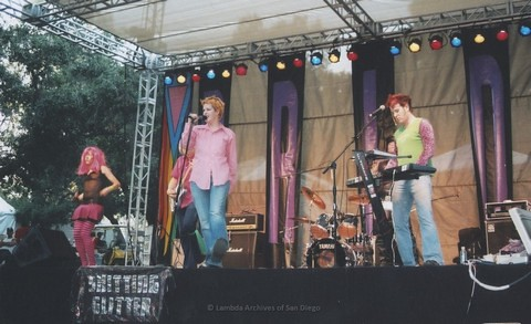 Youth Stage at San Diego LGBTQ Pride Festival, 2005