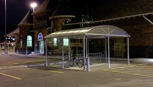 2014 05 covered Bike storage at Brampton GO_300