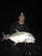 First ulua of da year on your bait! Chad