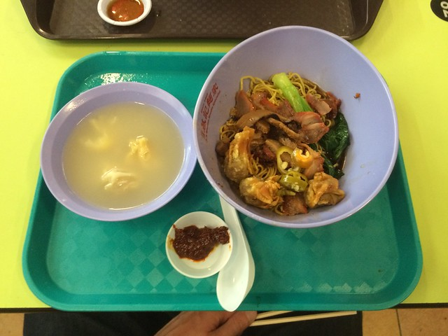Wanton mee at Hong Lim Complex Market & Food Centre
