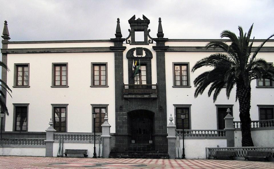 Ayuntamiento de Villa de Valverde isla de El Hierro Islas Canarias