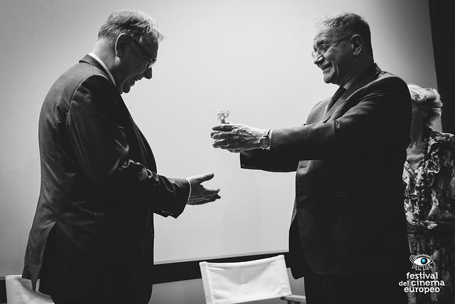 FCE 2016 - Consegna Ulivo d'Oro a Krzysztof Zanussi