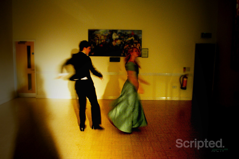 James and Kat on the Dancefloor