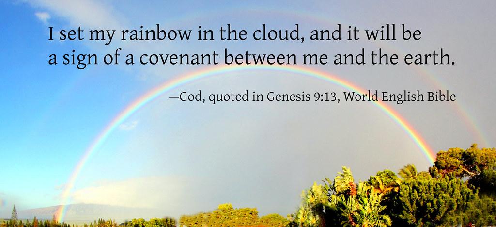 창세기 9장 하나님께서 노아와 세운 새로운 언약