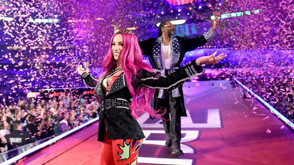 WWE Wrestlemania 32 Sasha Banks