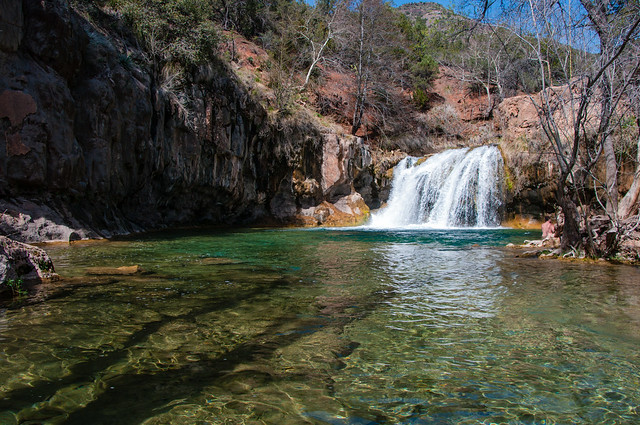 Waterfall Trail at Fossil Creek