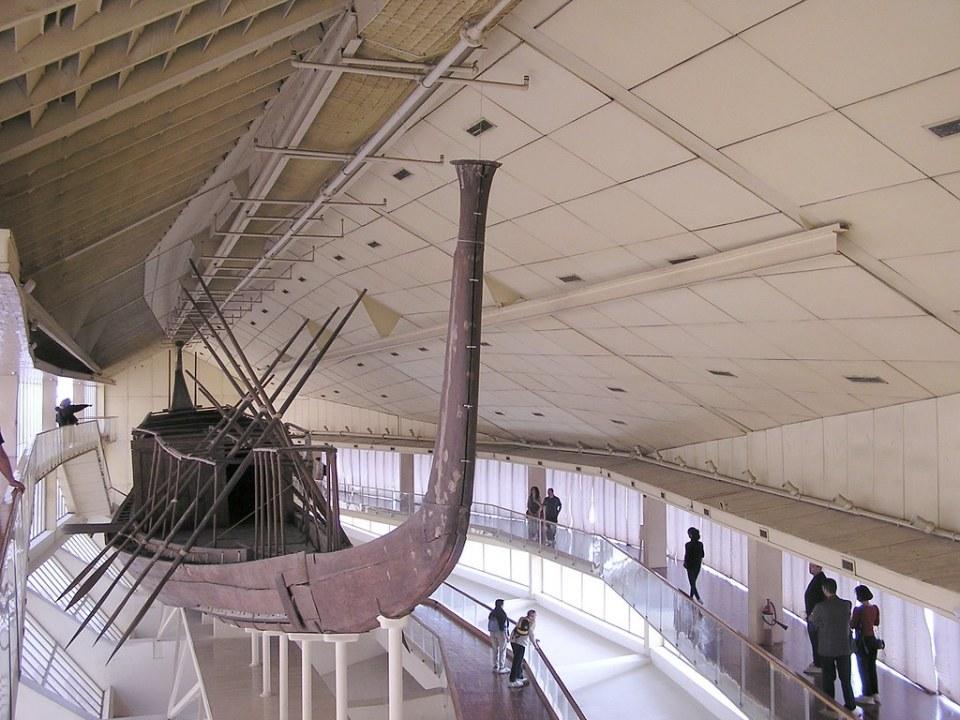 barca funeraria de Keops El Cairo Egipto 02