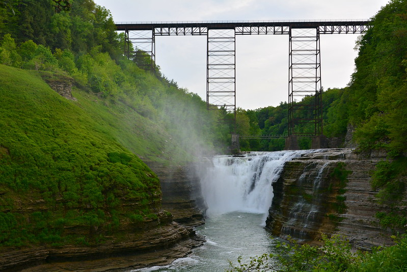 Portage Bridge at Letchworth State Park