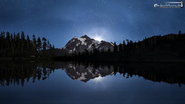 Moonlit reflection