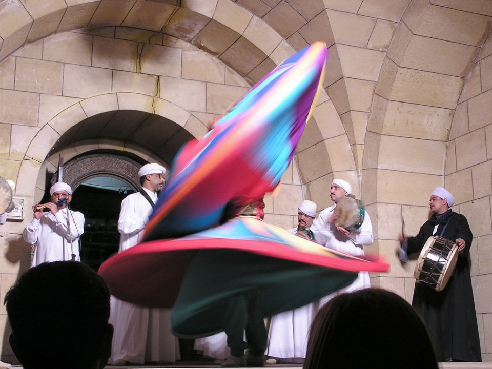 Baile Derviches El Cairo Egipto 02