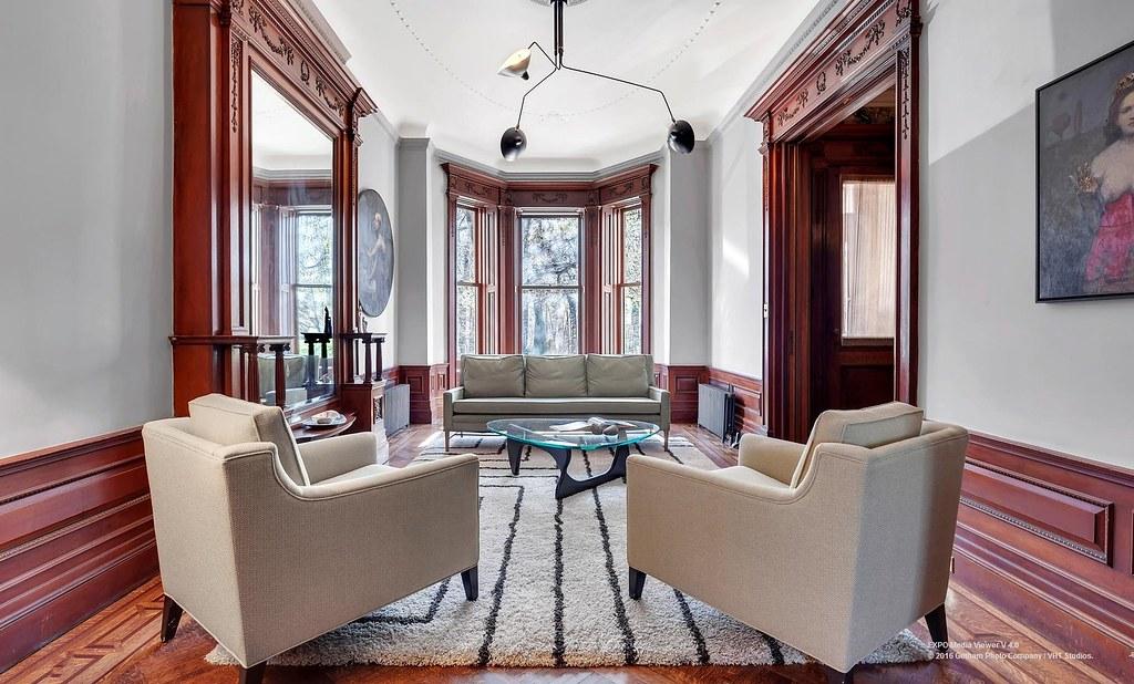 Brooklyn Brownstone Victoiran Living Room Prospect Park We Flickr