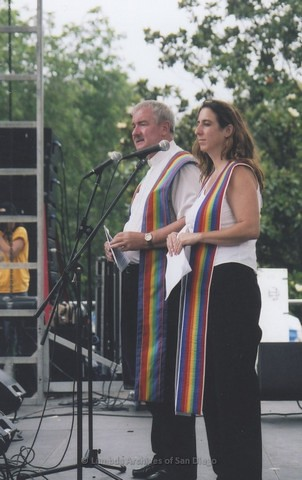 Commitment Ceremony at San Diego LGBTQ Pride Festival, 2006