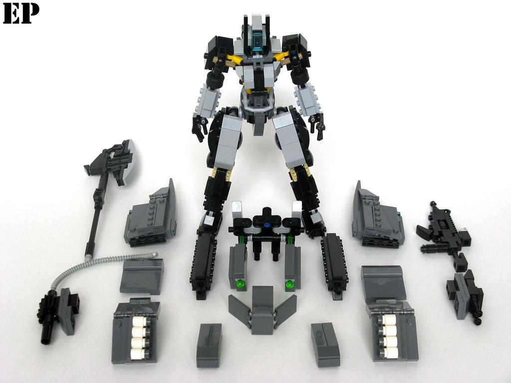 """RF-X02A/FA """"Armadillo"""" Automated Combat System"""