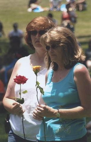 Commitment Ceremony at San Diego LGBTQ Pride Festival, 2008