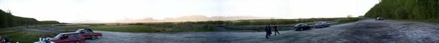 Bonfire Panoramic, Mat-Su Valley, AK