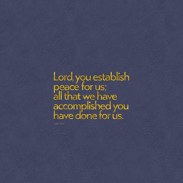 경영과 이루심에 관한 성경구절