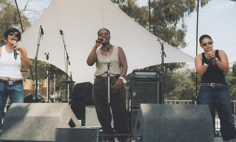 Main Stage at San Diego LGBTQ Pride Festival, 2007