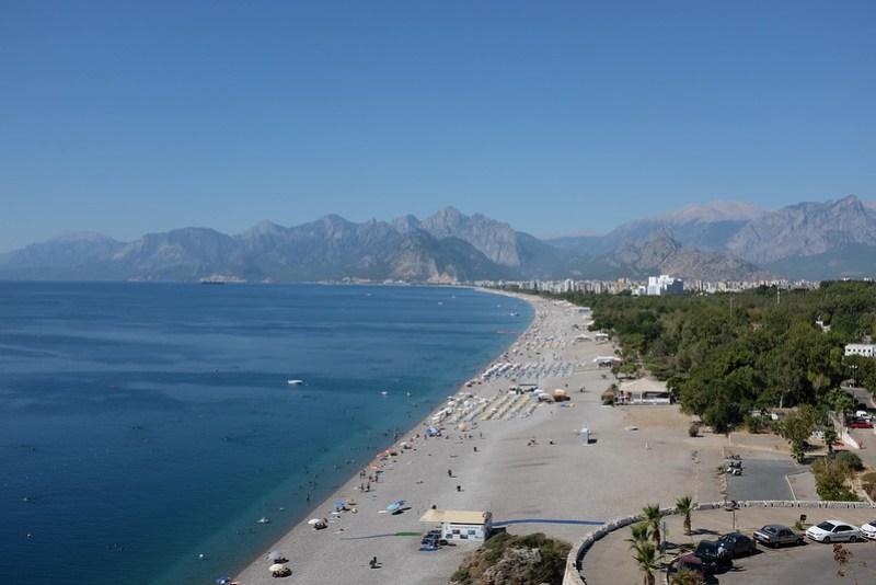 Konyaaltı Beach in Antalya