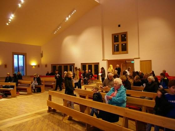 First Mass in New Church