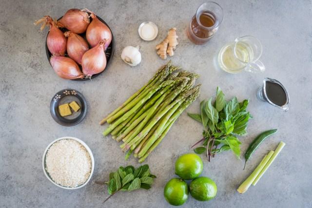 fresh aromatic ingredients