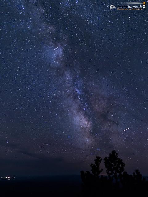 Milky Way above Paulina Peak