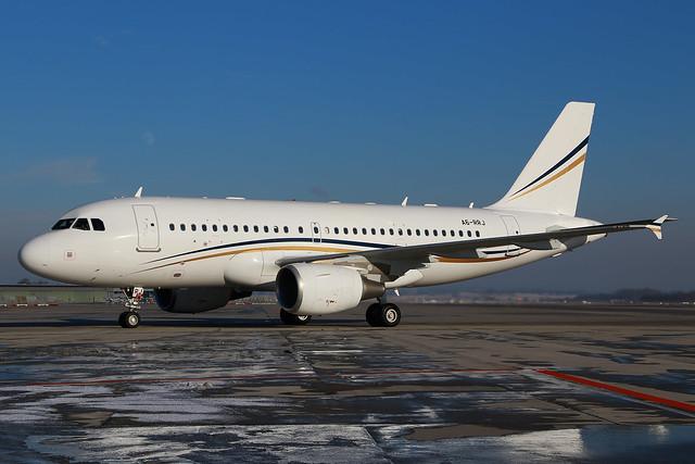 BIZ A319CJ A6-RRJ