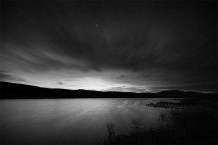 Carron Valley Reservoir at Night