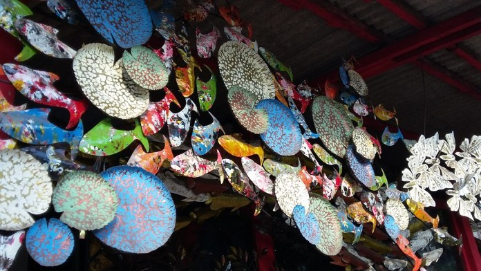 Guwang art market in bali