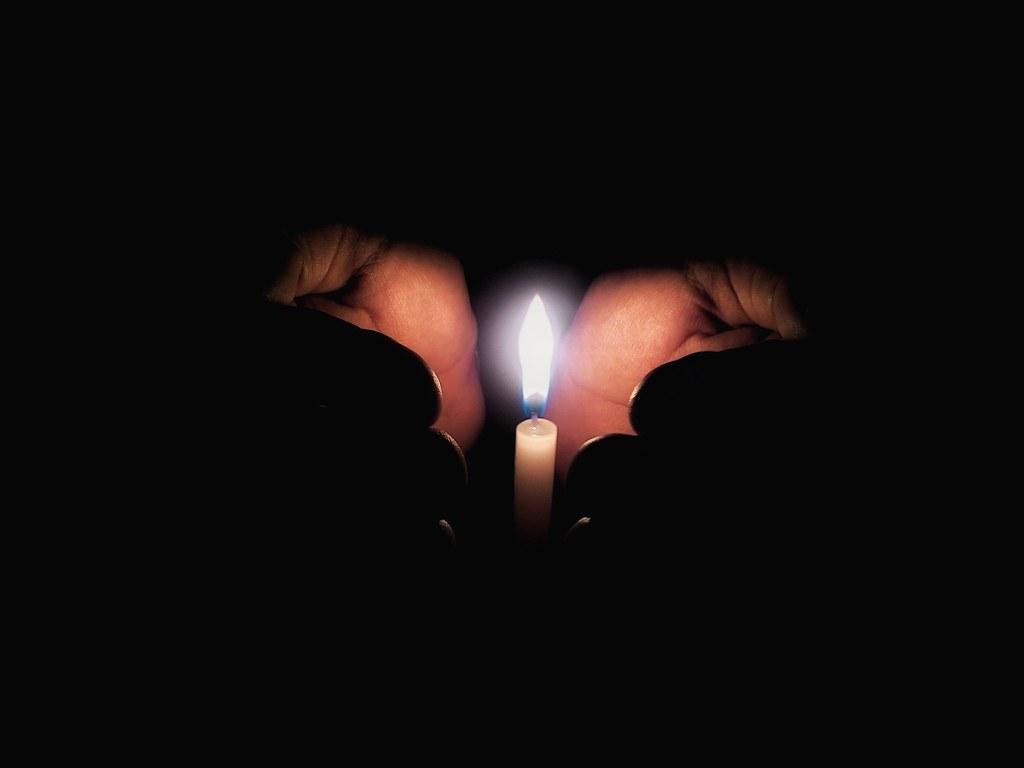 No Lights Environmental Awareness Savior Light And Dark Li