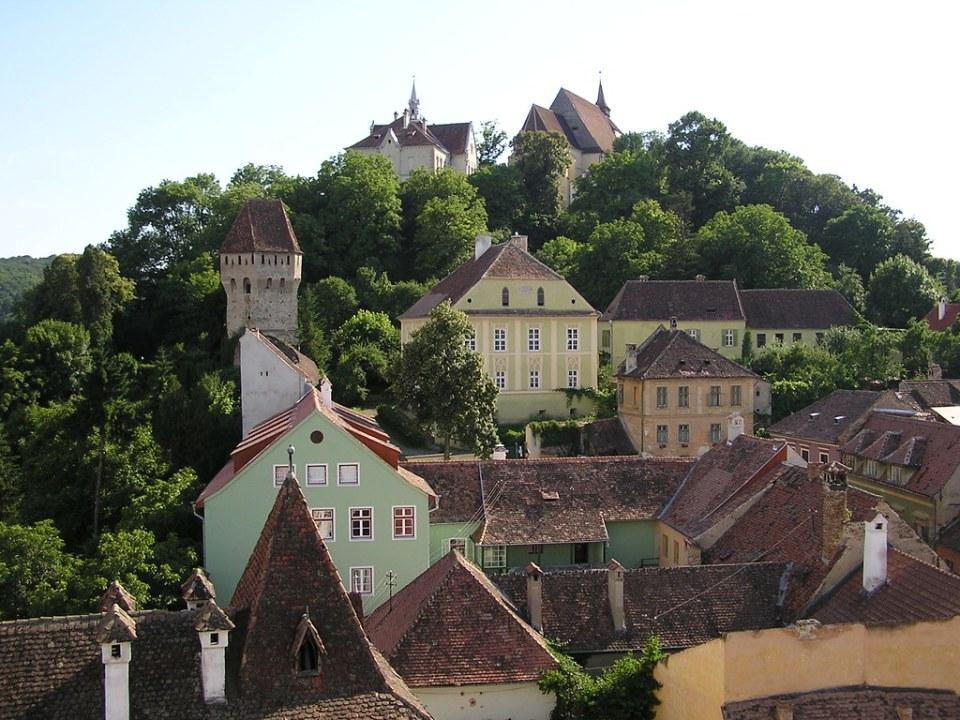Sighisoara ciudad medieval fortificada Rumania 10