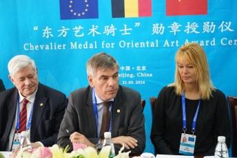Bruno Gollnisch en Chine - Mr Gollnisch Award Ceremony
