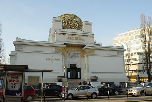 維也納-分離派會館 | 分離派會館是維也納新銳畫家或是藝術工作者的殿堂. 裡面展示著新銳藝術家的創作.聽說 ...