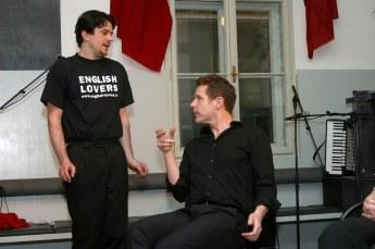 der wiener salon speaks english - english lovers: michael smulik & jim libby