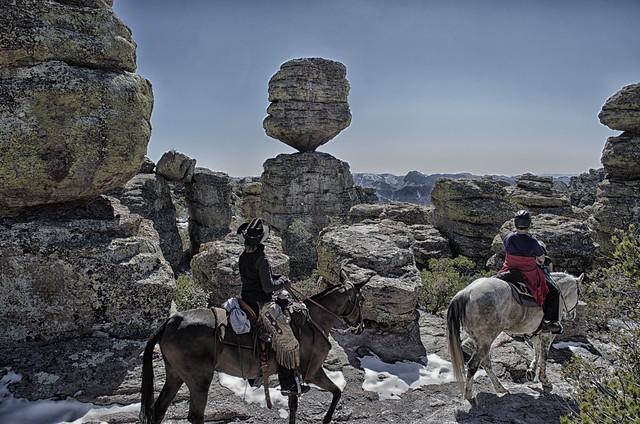 Chiricahua Riders