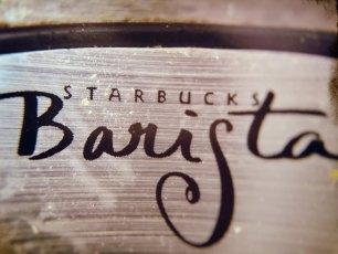 Because I'm the Barista, Be-otch!