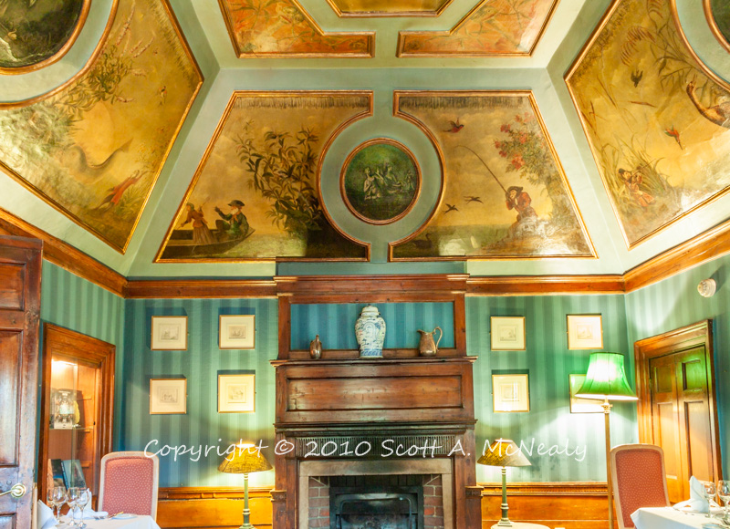 Monkey Room Fireplace Wall At Monkey Island Hotel Flickr