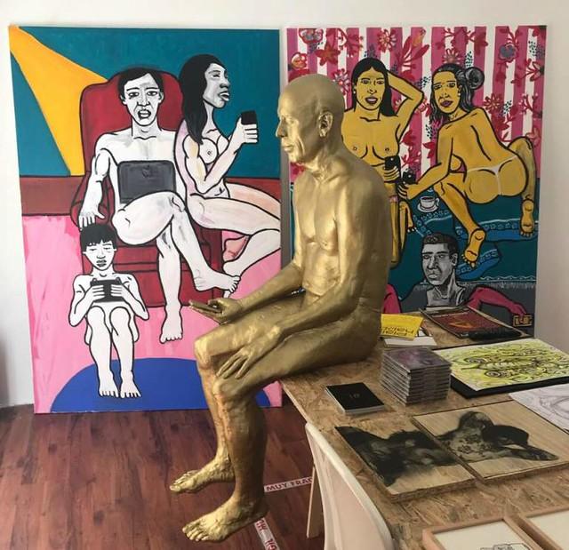 los artistas del barrio en alltheater de eva lapuente