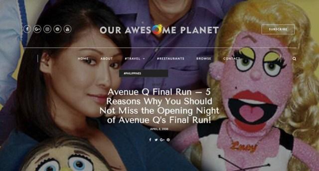 Avenue Q Final Run