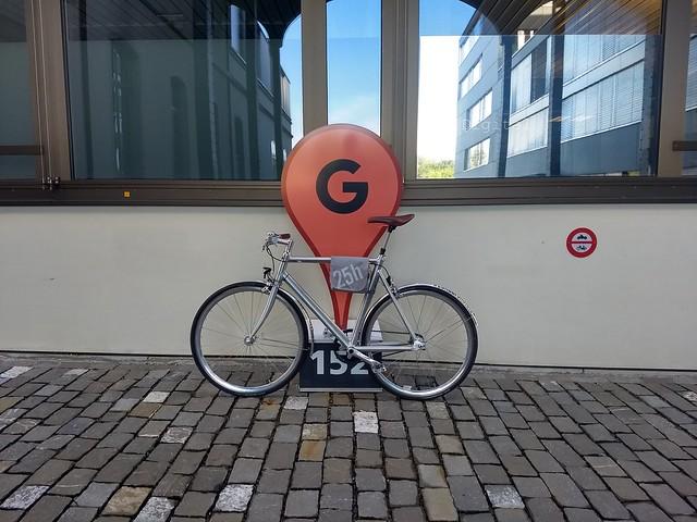 Hotel Rental Bike at Google Zurich