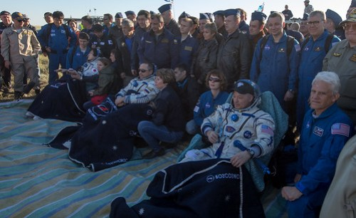Expedition 55 Soyuz MS-07 Landing (NHQ201806030030)