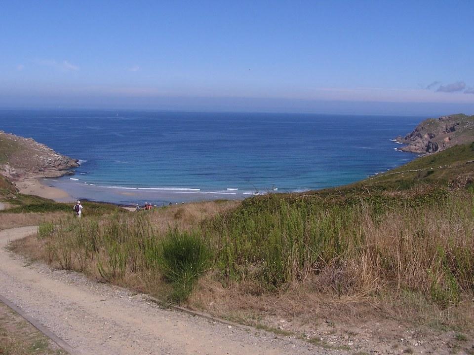 Costa da Morte Monte Veladoiro a Lires La Coruña Galicia 07