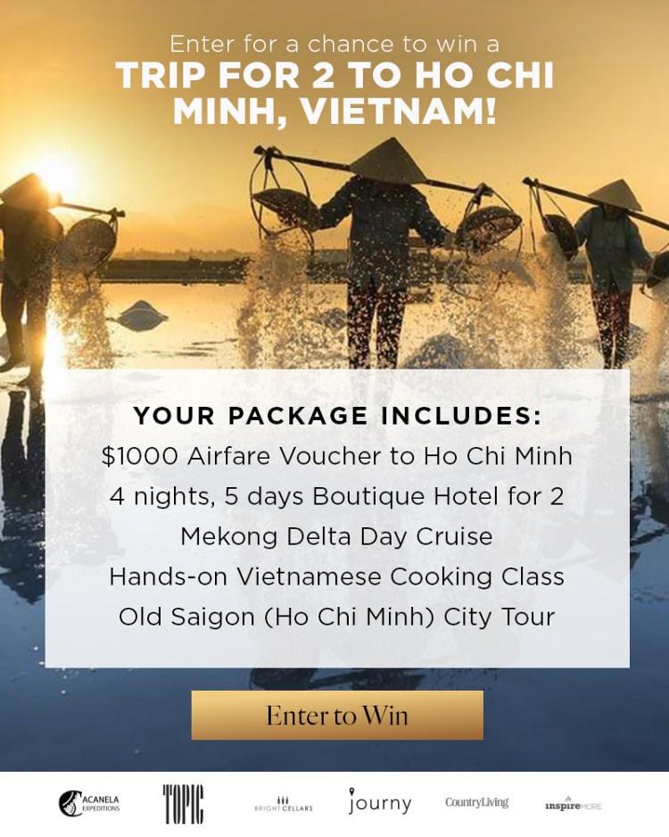 Win A Vietnam Trip From Journy!