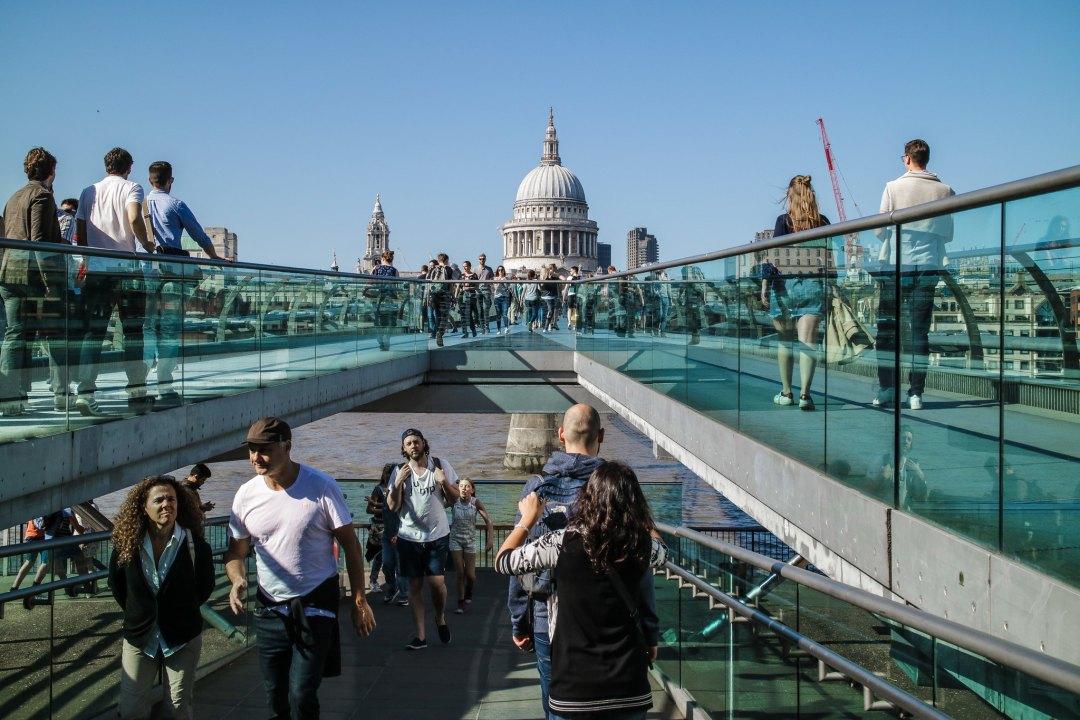 Millennium Bridge, Londra