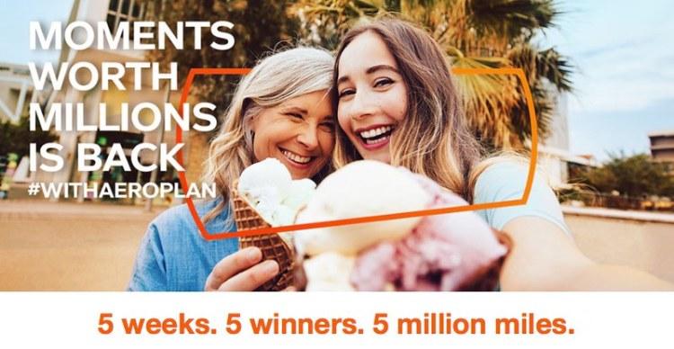 Win A Million Miles #withAeroplan!