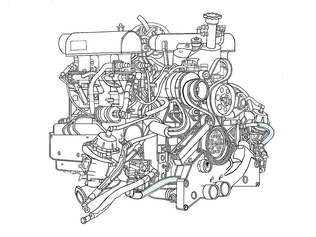 Porsche 911 993 Gt1 Engine In Pits Resting On A Box 18