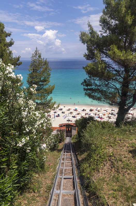 By Railroad to the Beach