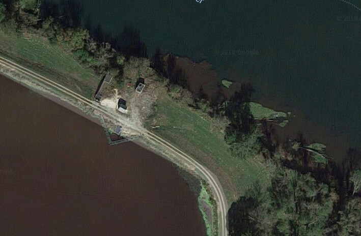 Savannah River Water Treatment from Google Maps