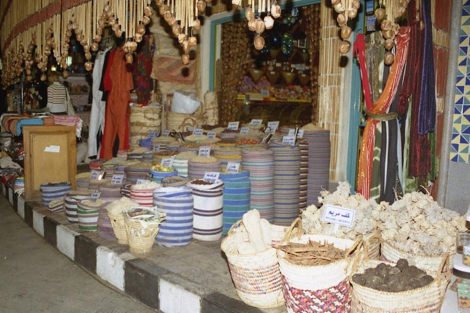 112 Egipto comercio tiendas mercado